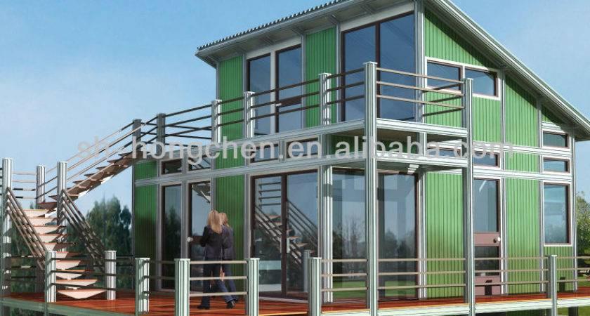 Prefab Steel Frame Kit Home Light Villa Modern