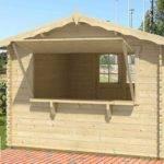 Prefabricated Building Kit Farm Market Kiosk