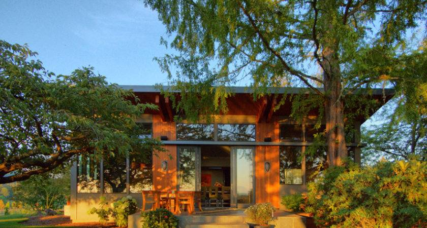 Prefabricated Home Portland Oregon Modern Prefab