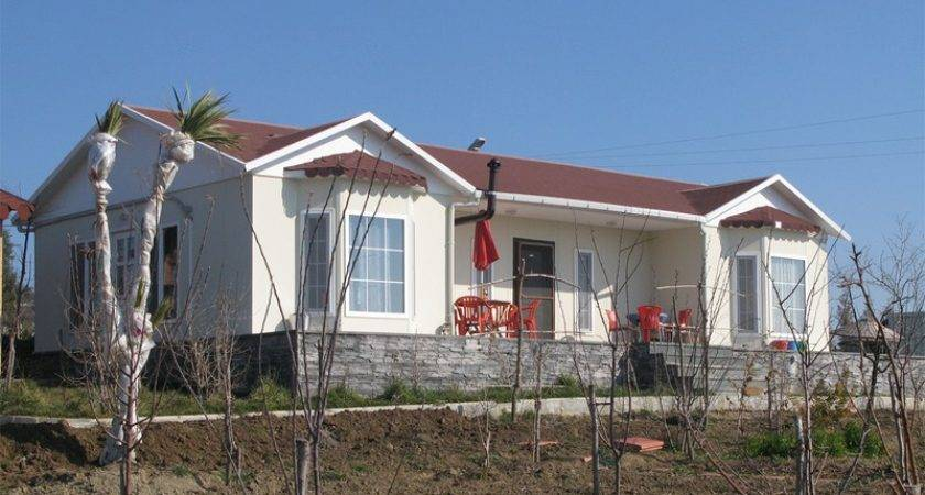 Prefabricated House Single Storey