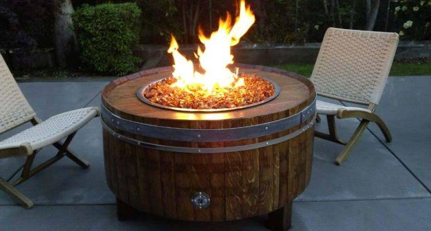 Propane Gas Fire Pit Kit Lowes Outdoor Decorations