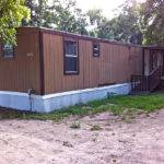 Property Has Mobile Homes However White Home