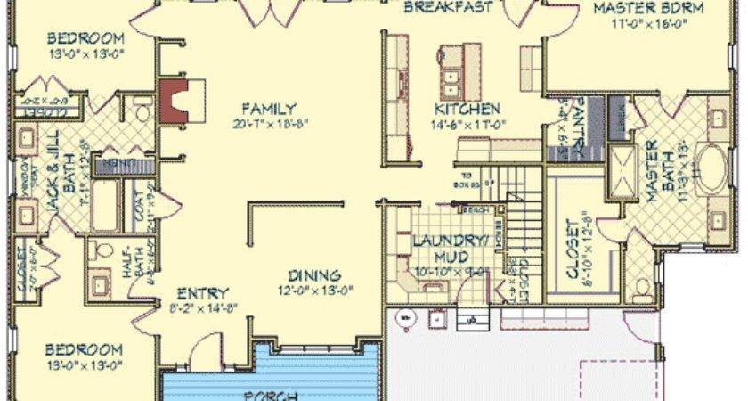 Rambler House Plans Bonus Room