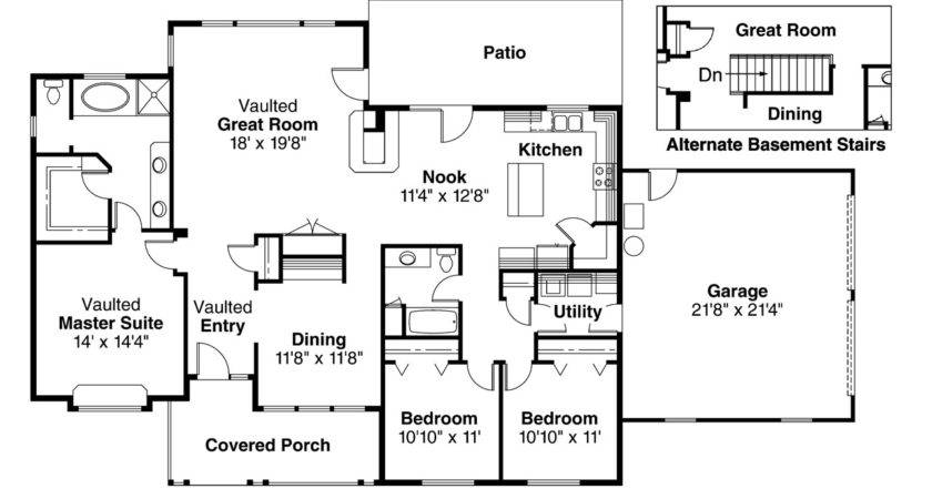 Ranch House Plans Alpine Associated Designs