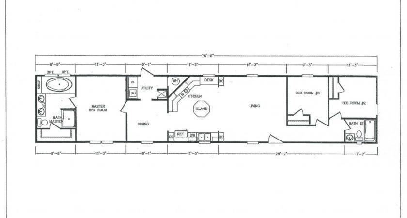 Ranch House Plans Floor Under