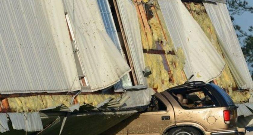 Rankin Homes Mobile Park Destroyed