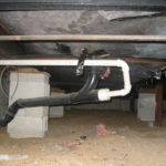 Rat Problem Under Mobile Home Floor Hot Water Heater Drains