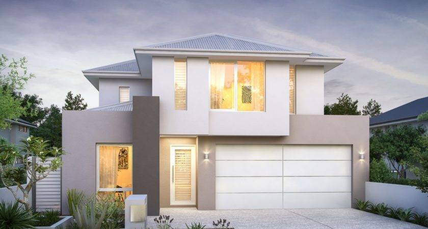 Reeves Double Storey Designs Broadway Homes