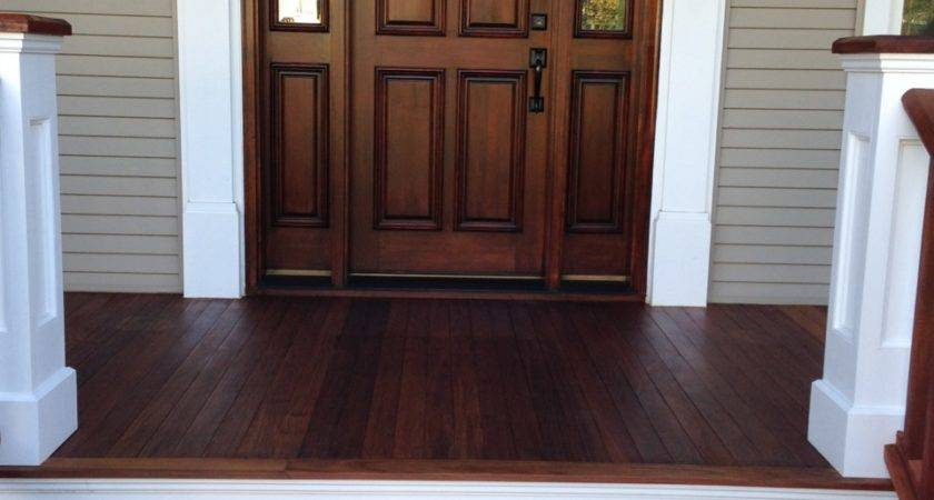 Refinishing Ipe Wood Front Porch Floor
