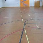 Refurbished Particle Board Chip Dance Floor Finished