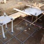 Rehabilitation Project Rebar Formwork Steel Column Foundation