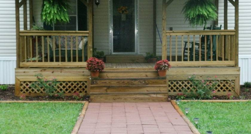 Related Front Porches Mobile Home