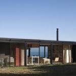 Remote House Small Prefab Home Set Coast Chile