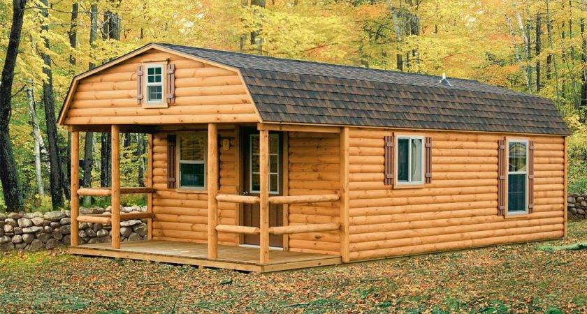 Rent Own Log Cabin Shell Mobile Home Repo