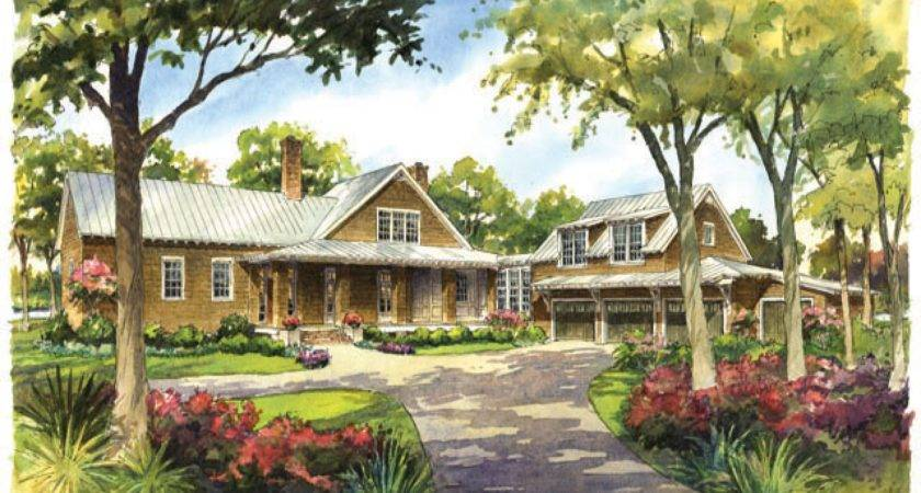 River House Plans Southern Living Country