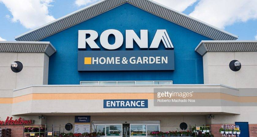 Rona Home Garden Sign Store Entrance