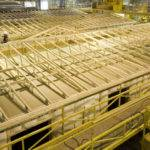 Roof Sections Built Jigs Using Engineered Trusses Designed