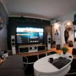 Room Home Theater Living Futuristic Setup