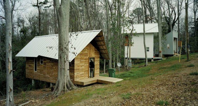 Rural Studio Builds Brand New Houses Alabama