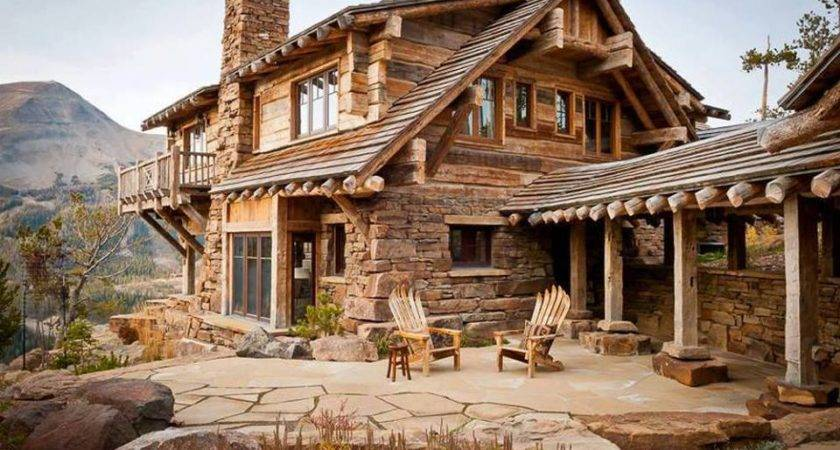 Rustic Cabin Barn Homes Cabins Pinterest