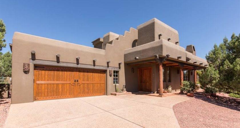 Santa Style Homes Also Known Pueblo Abode Home Plans