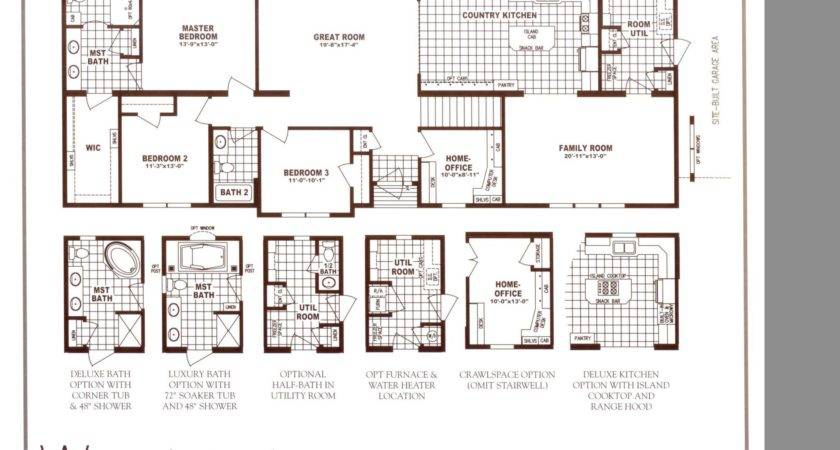 Schult Chateau Elan Woodwind Floor Plan Excelsior Homes