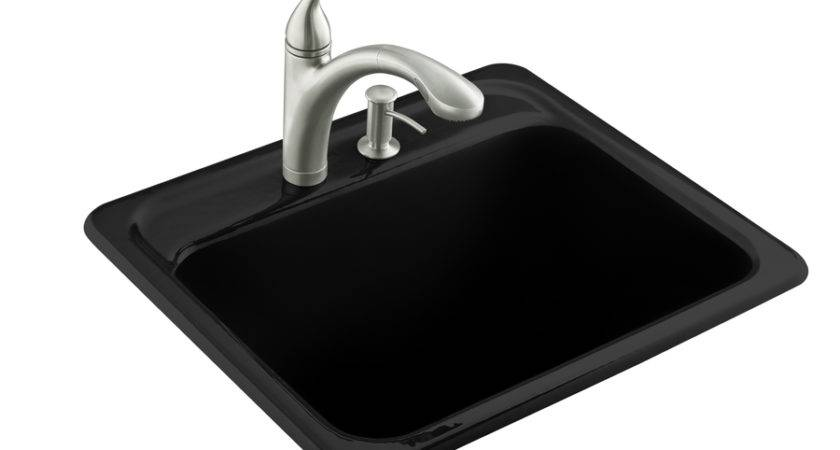 Shop Kohler Black Cast Iron Laundry Sink Lowes