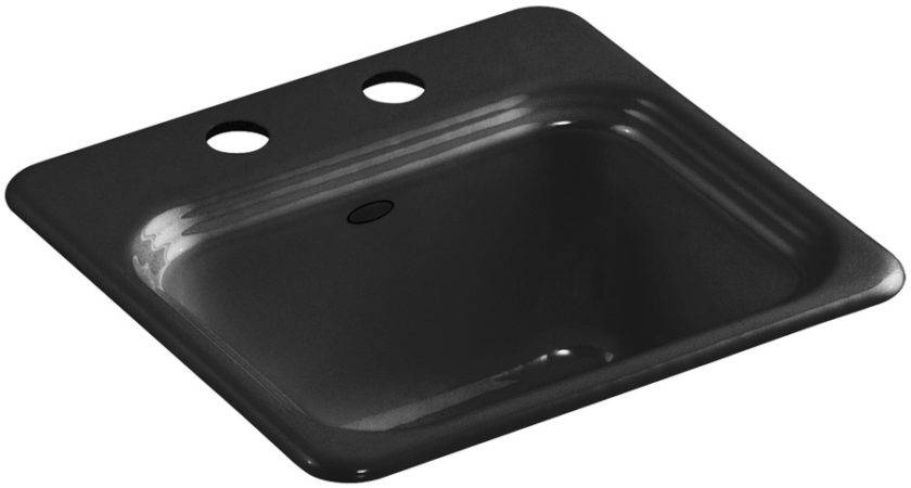 Shop Kohler Northland Black Hole Cast Iron Drop