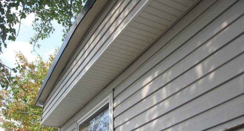 Siding Installed Mobile Home