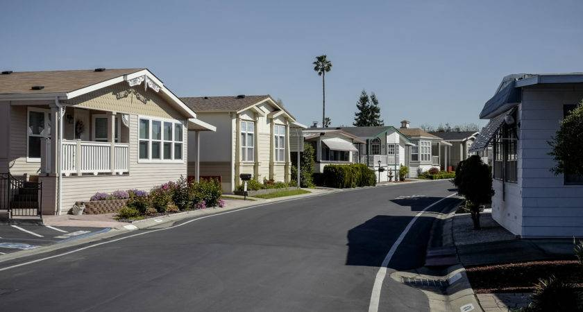 Silicon Valley Even Mobile Homes Getting Too