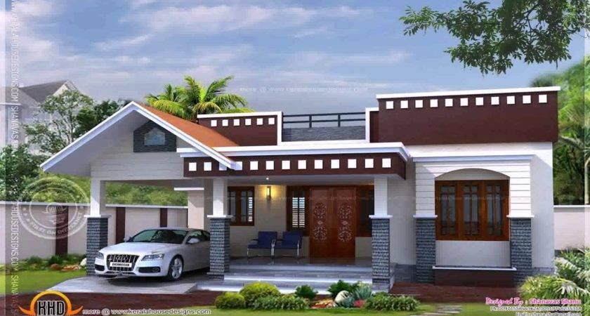 Simple House Plans Kerala One Floor Youtube