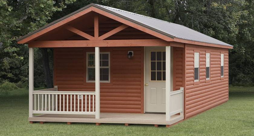 Simple Outdoor Pre Built Shed Cabin Wrought Iron