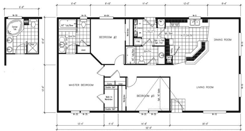 Simple Small House Floor Plans Manufactured Home Plan Search