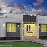 Single Floor Home Stair Room Kerala Design Plans