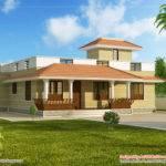 Single Story Kerala Model House Without Car Porch
