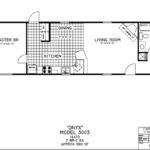 Single Wide Mobile Home Floor Plans Addition