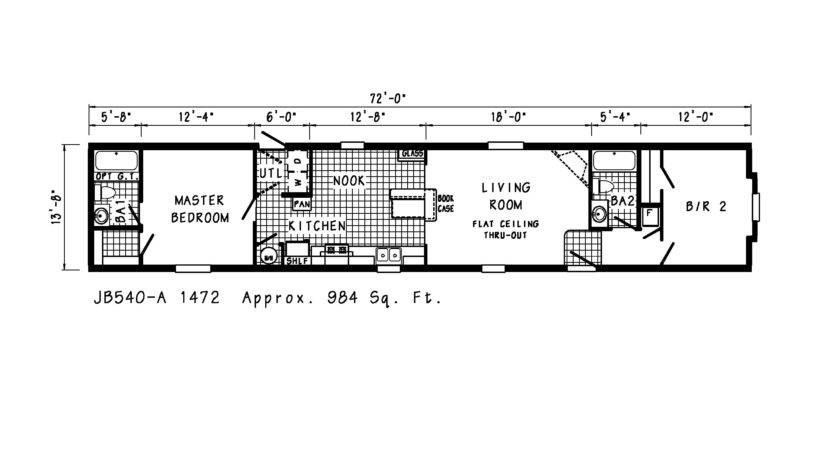 Singlewide Floor Plans