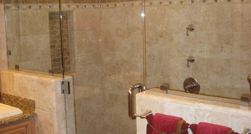 Small Bathroom Shower Tile Ideas Large Beautiful