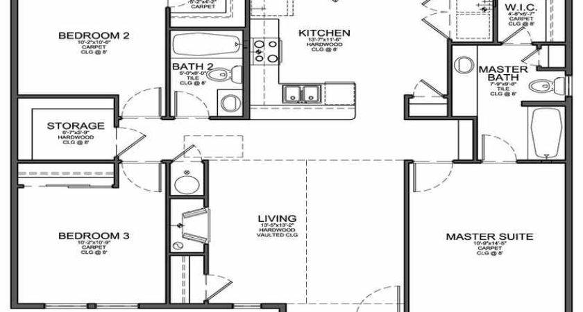 Small Cottage Floor Plans House Ideas