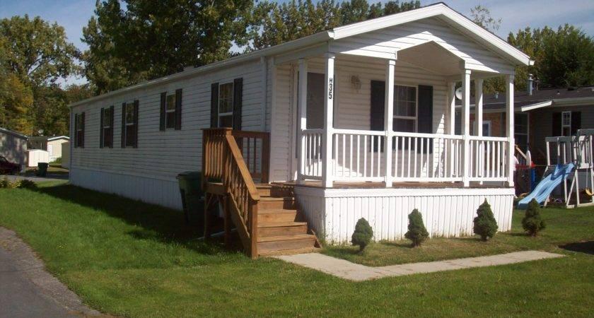 Small Mobile Homes Porches