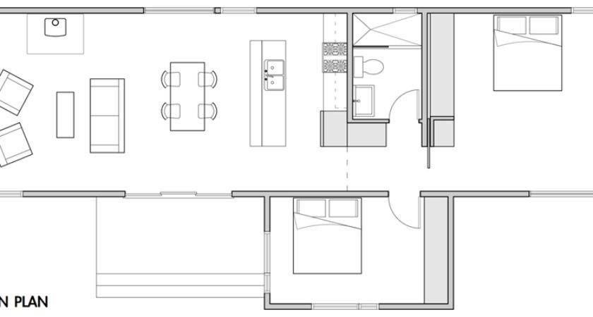 Small Modern Prefab Home Plans