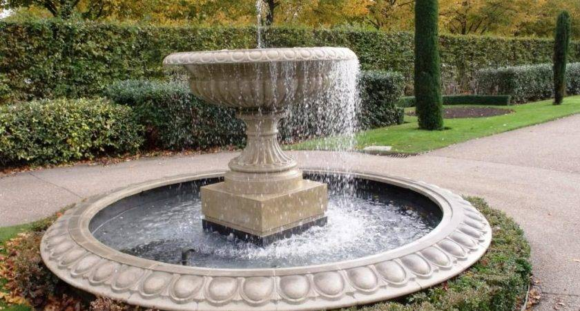 Small Patio Fountain Ideas Design