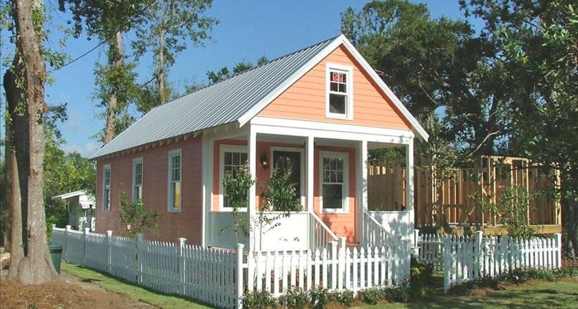 Small Prefab Homes Katrina Cottge Manufactured Home Porch Design