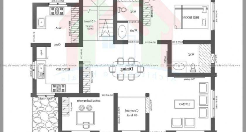 Smart Home Plan Kerala House Floor Plans