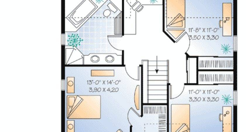 Smart House Plan Alternate Garage