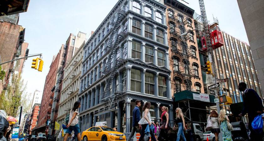 Soho Chic Stores Cobblestones New York Times