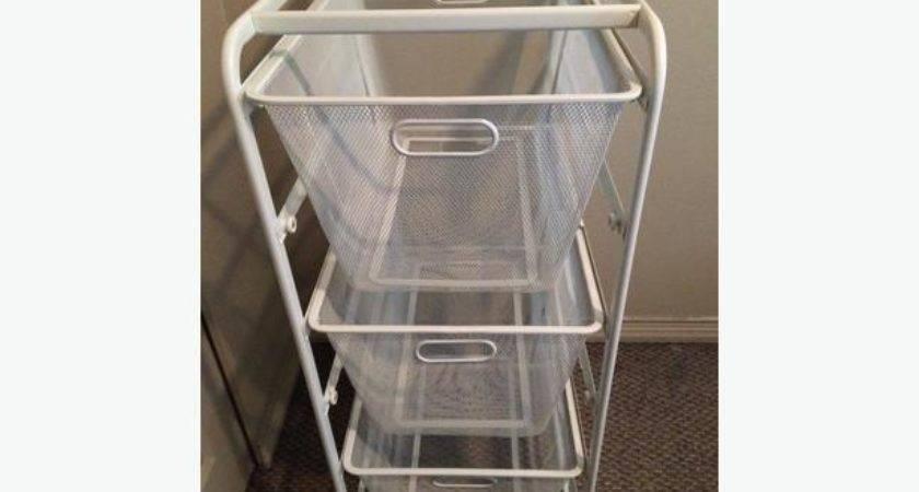 Sold Ikea Algot Basket Drawer Closet Storage Unit