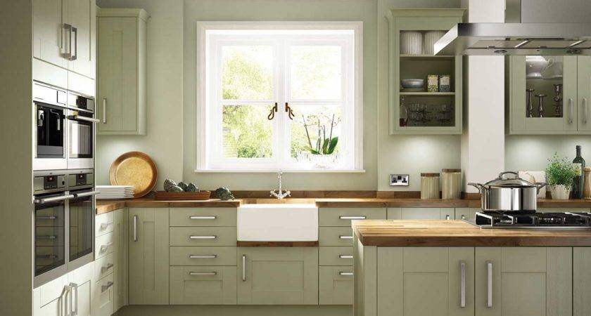Somerset Olive Green Kitchen