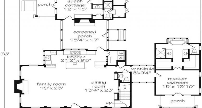 Southern Living Floor Plans Guest Houses