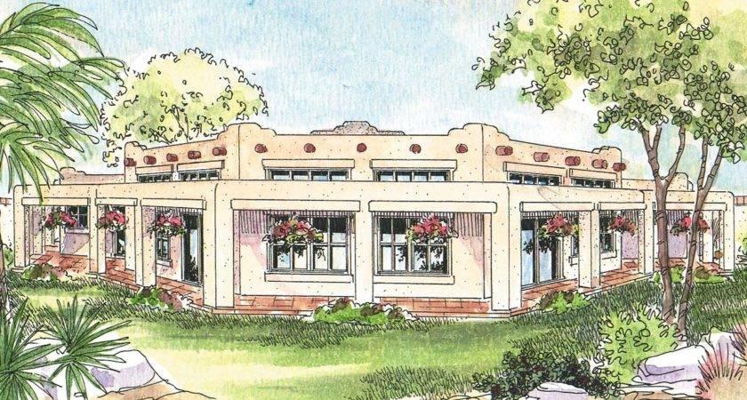 Southwest House Plans Santa Associated Designs